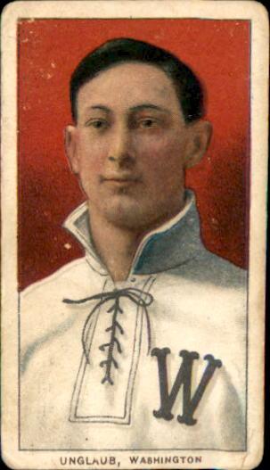 1909-11 T206 #494 Bob Unglaub