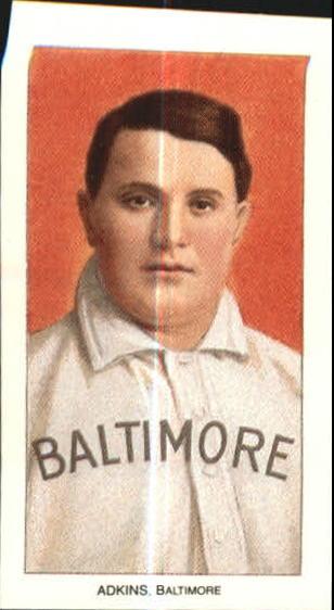 1909-11 T206 #5 Doc Adkins ML