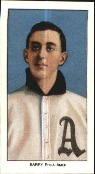 1909-11 T206 #21 Shad Barry ML