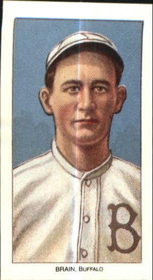 1909-11 T206 #47 Dave Brain ML