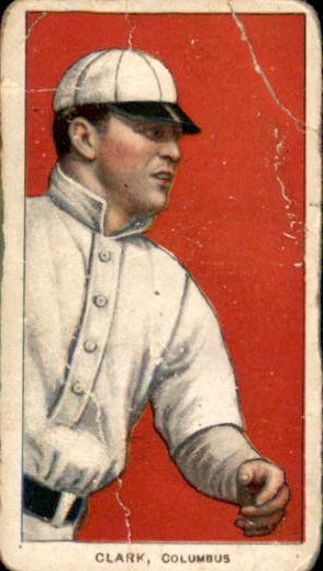1909-11 T206 #92 Josh Clark (Clarke) ML