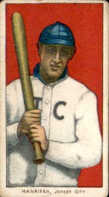 1909-11 T206 #203 Jack Hannifan/(Hannifin) ML