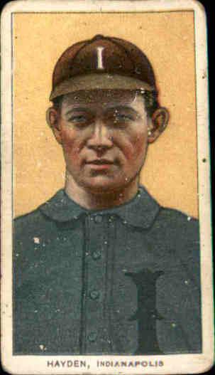 1909-11 T206 #207 Jack Hayden ML