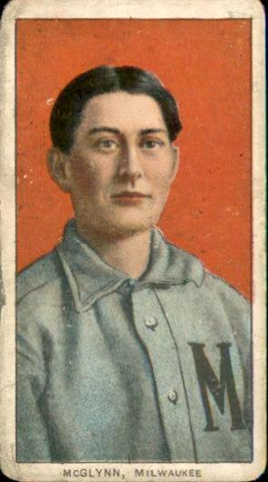 1909-11 T206 #319 Stoney McGlynn ML