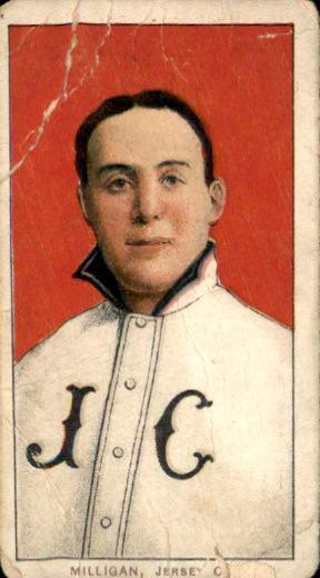 1909-11 T206 #339 Bill Milligan ML