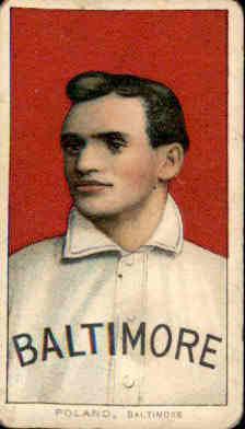 1909-11 T206 #397 Phil Poland ML