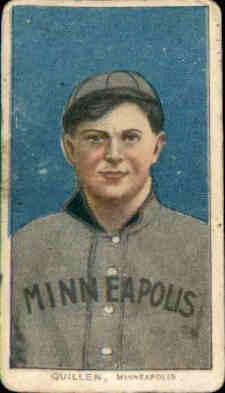 1909-11 T206 #402 Lee Quillen/(Quillin) ML