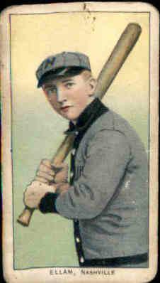 1909-11 T206 #163 Roy Ellam SL