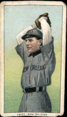 1909-11 T206 #181 Charlie Fritz SL