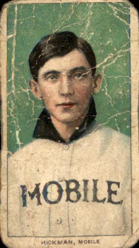 1909-11 T206 #212 Gordon Hickman SL