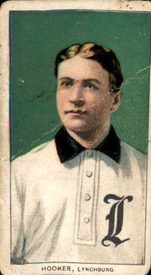 1909-11 T206 #219 Bock Hooker SL