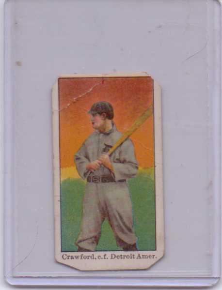 1909-11 American Caramel E90-1 #28 Sam Crawford