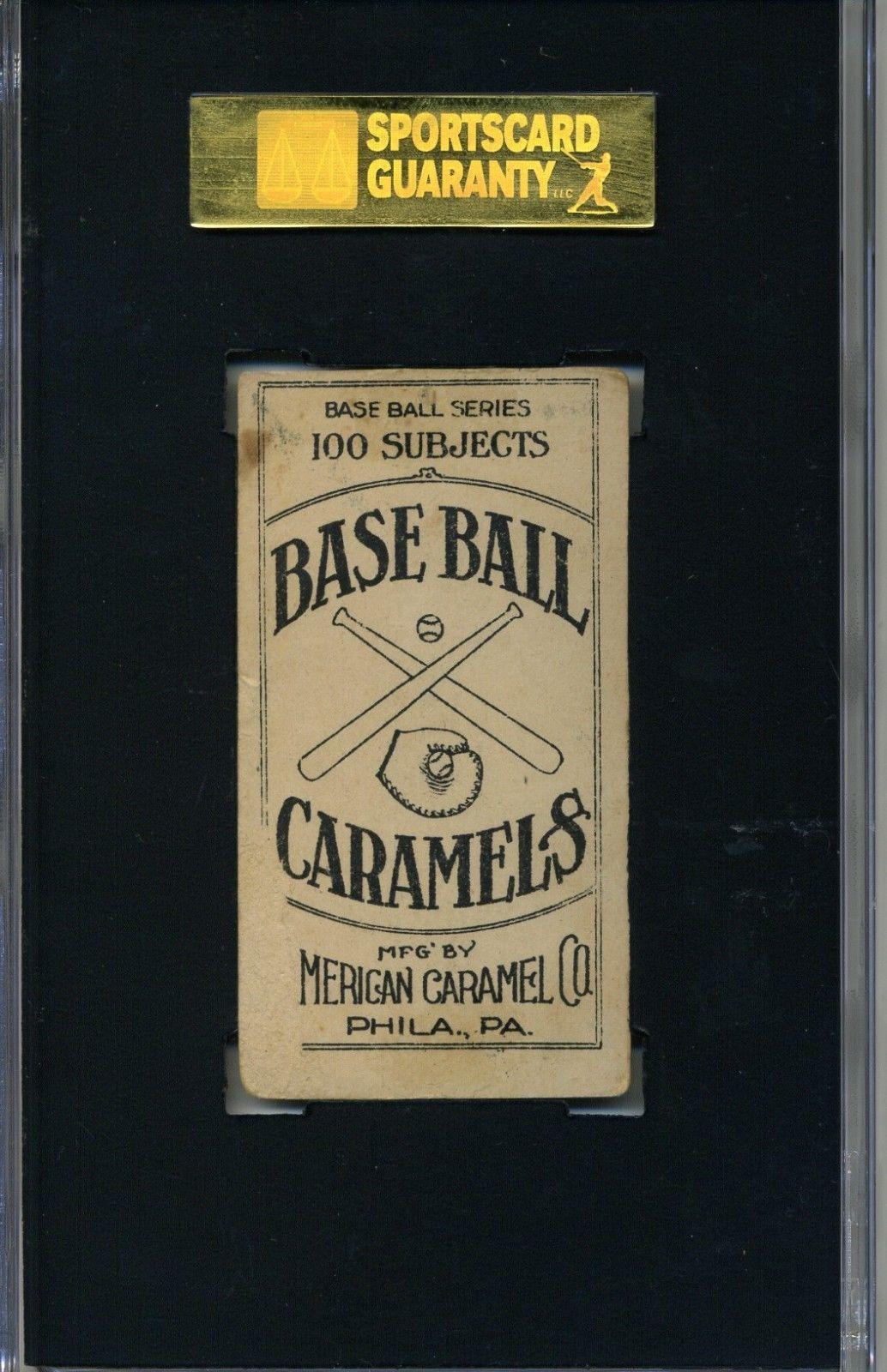 1909-11 American Caramel E90-1 #111 Joe Tinker back image