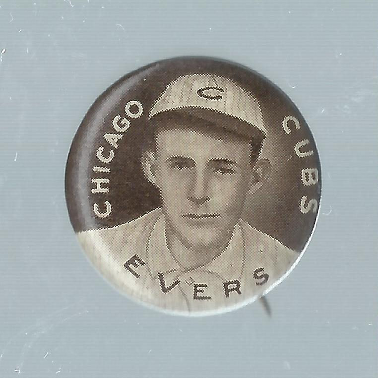 1910-12 Sweet Caporal Pins P2 #49 Johnny Evers