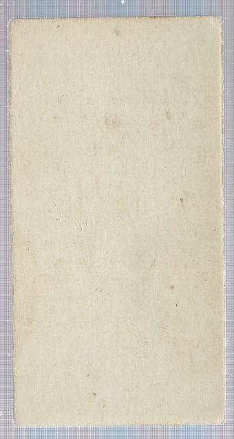 1916 M101-5 Blank Back #40 Harry Coveleski UER/(misspelled Coveleskie) back image