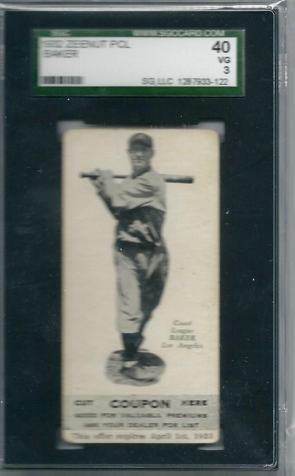 1932 Zeenut #19 Loris Baker