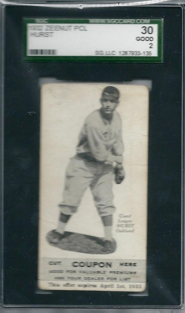 1932 Zeenut #57 Robert Hurst
