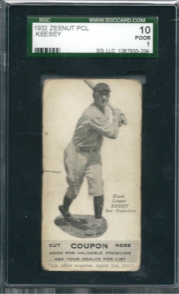 1932 Zeenut #104 Jim Keesey
