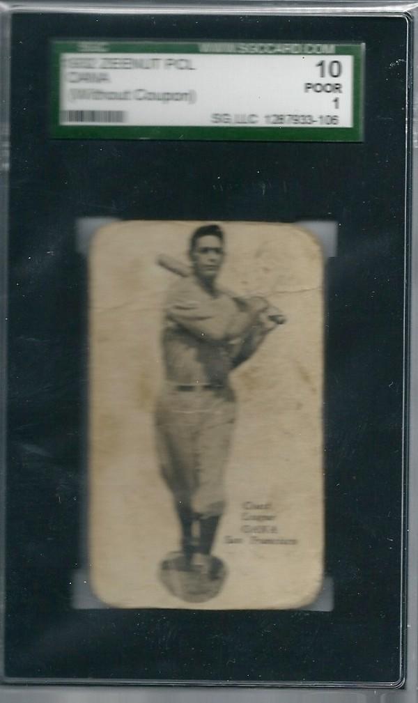 1932 Zeenut #106 Henry Oana