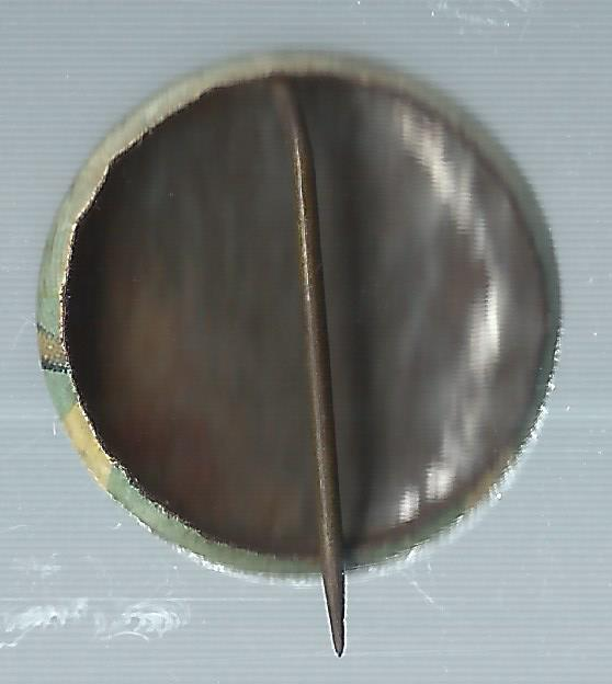 1932-34 Orbit Gum Pins Numbered #32A Woody English back image