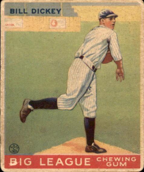 1933 Goudey #19 Bill Dickey RC