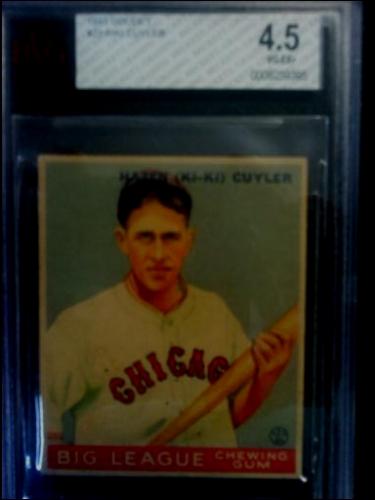 1933 Goudey #23 Kiki Cuyler RC