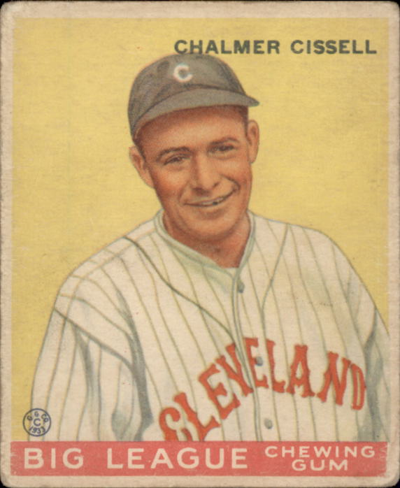 1933 Goudey #26 Bill Cissell RC