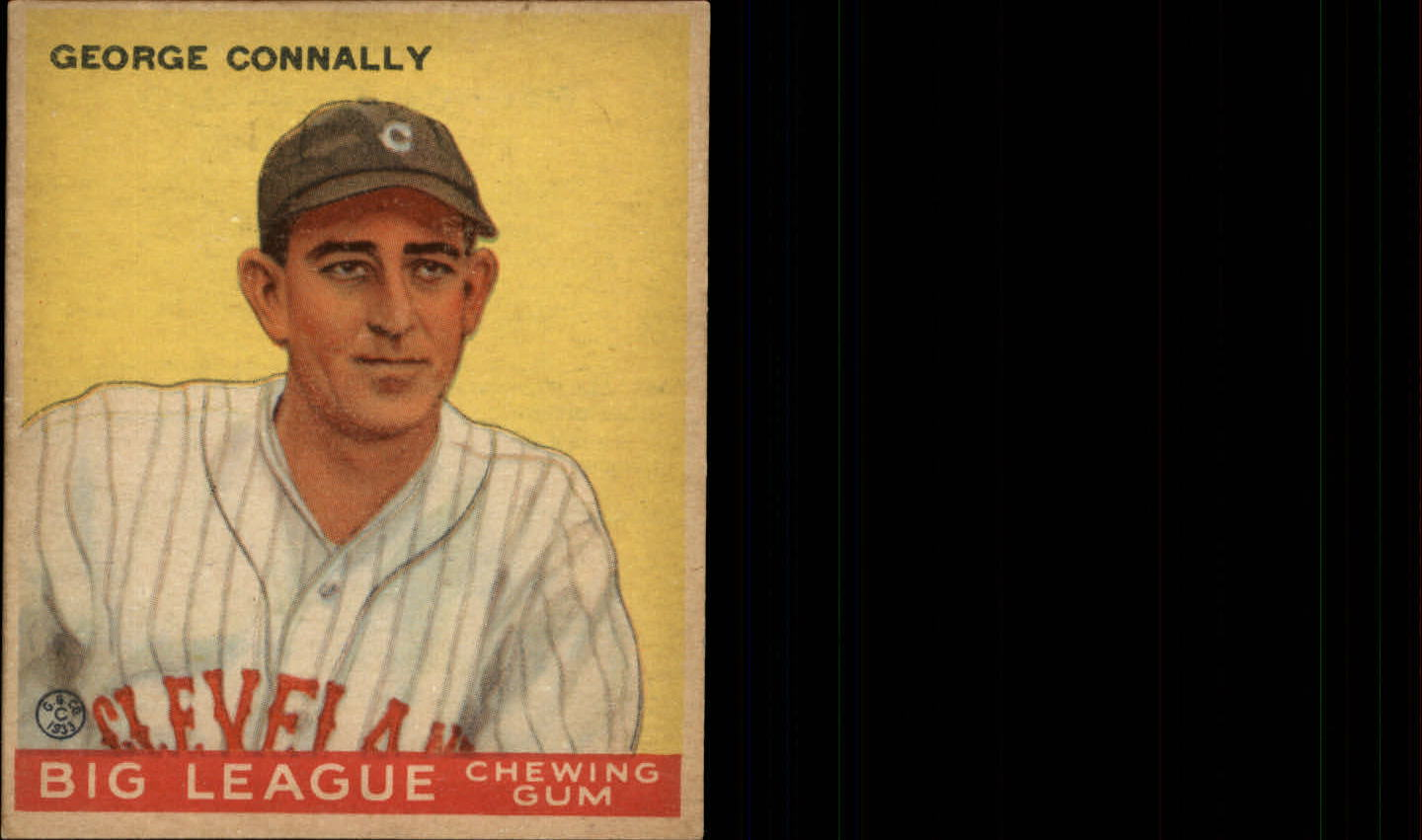 1933 Goudey #27 George Connally RC