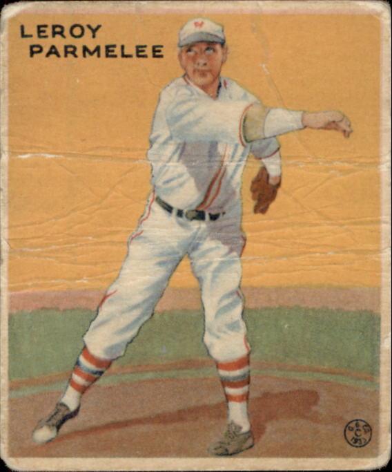 1933 Goudey #239 Leroy Parmelee RC