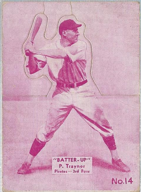 1934-36 Batter-Up #14 Pie Traynor