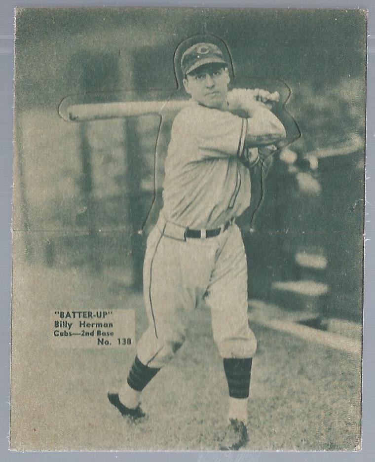 1934-36 Batter-Up #138 Billy Herman