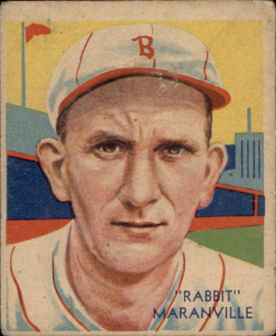 1934-36 Diamond Stars #3 Rabbit Maranville/34G, 35G