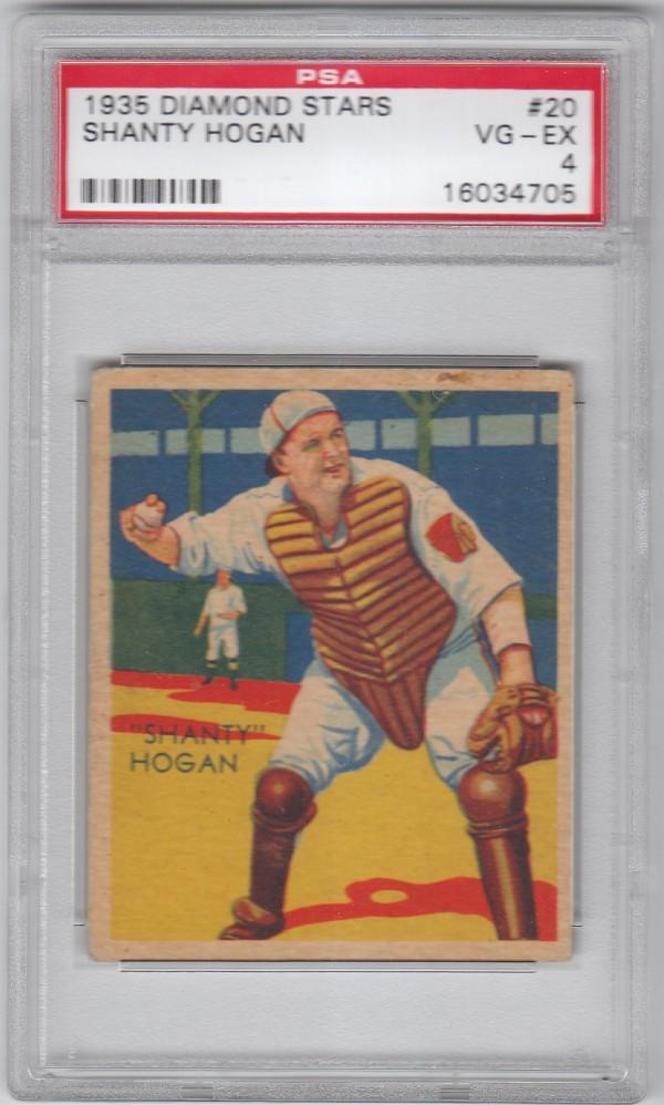 1934-36 Diamond Stars #20 Frank Hogan/34G, 35G