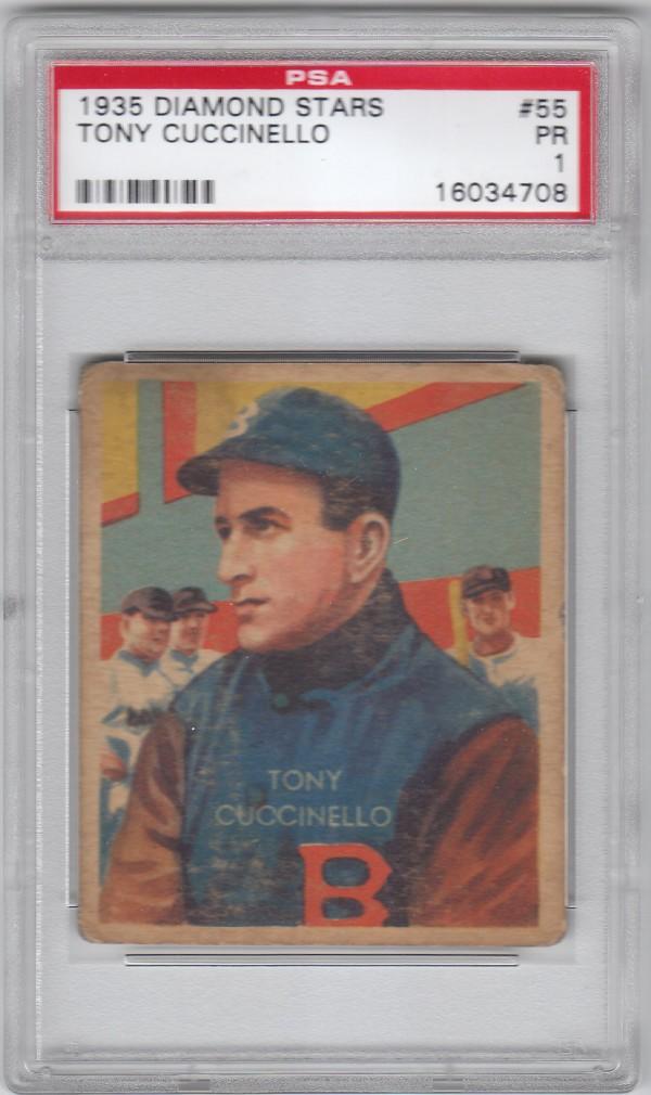 1934-36 Diamond Stars #55 Tony Cuccinello (35G)