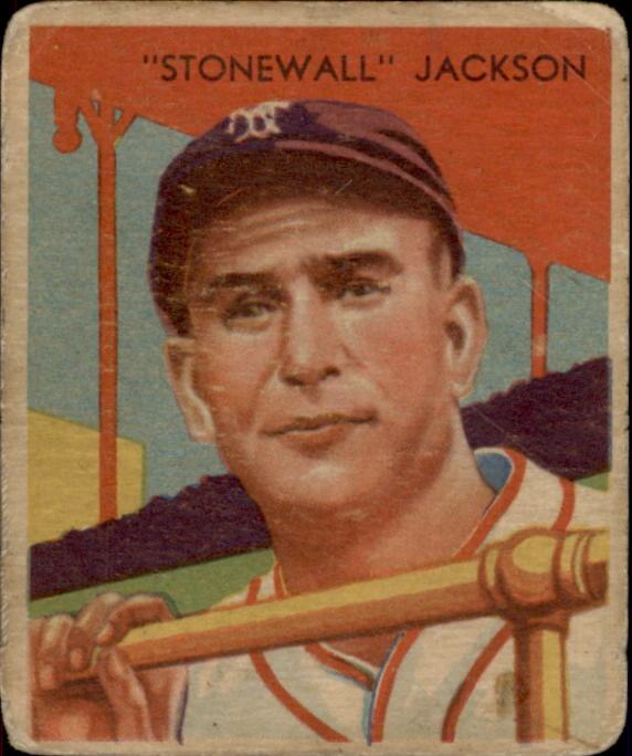 1934-36 Diamond Stars #63 Travis Jackson (35G)
