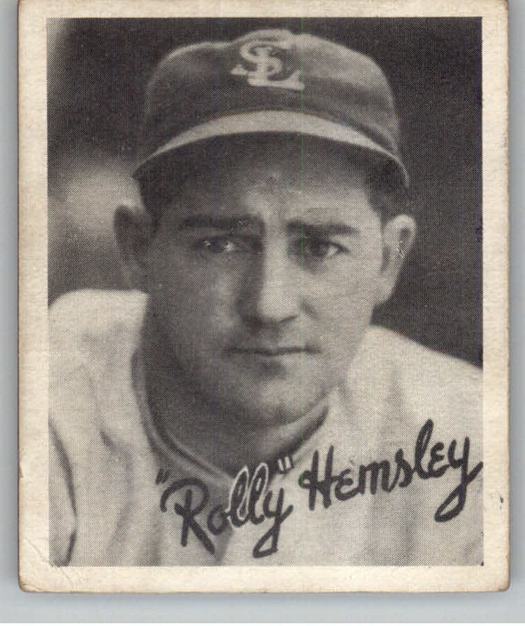 1936 Goudey Black and White #17 Rollie Hemsley