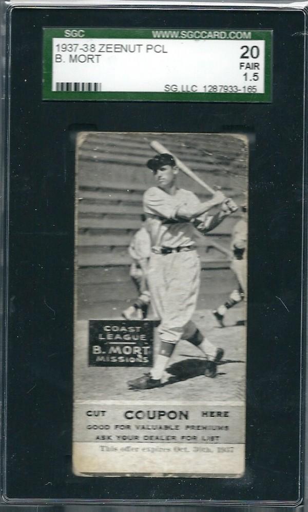 1937-38 Zeenut #3 Robert Mort