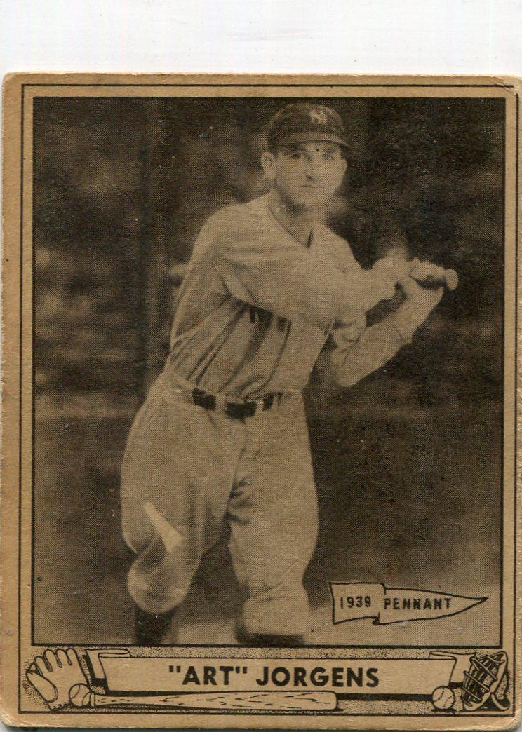 1940 Play Ball #2 Art Jorgens