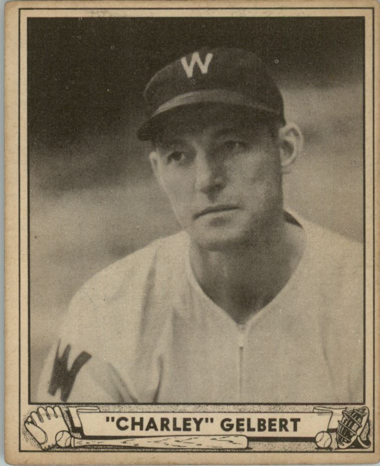 1940 Play Ball #18 Charlie Gelbert