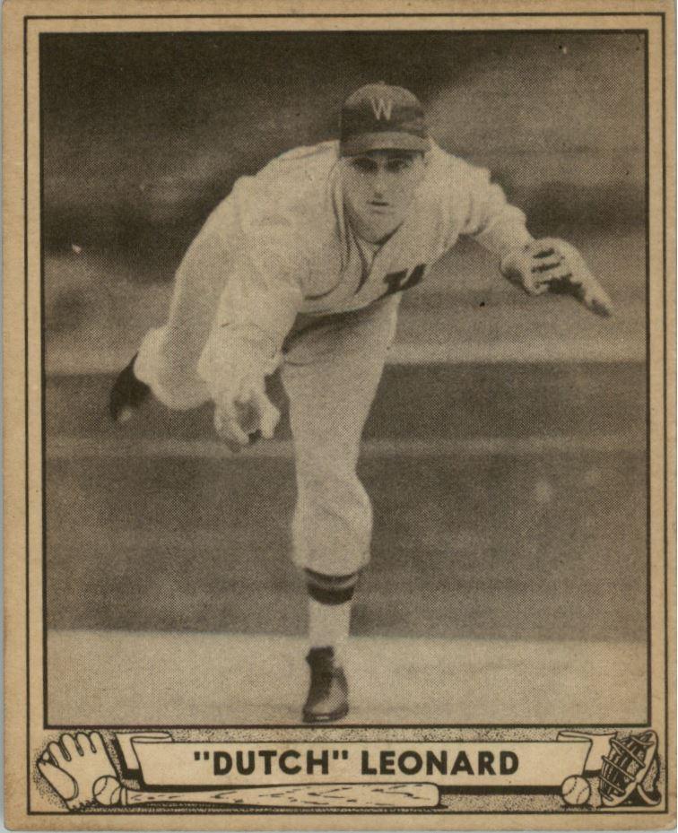 1940 Play Ball #23 Dutch Leonard