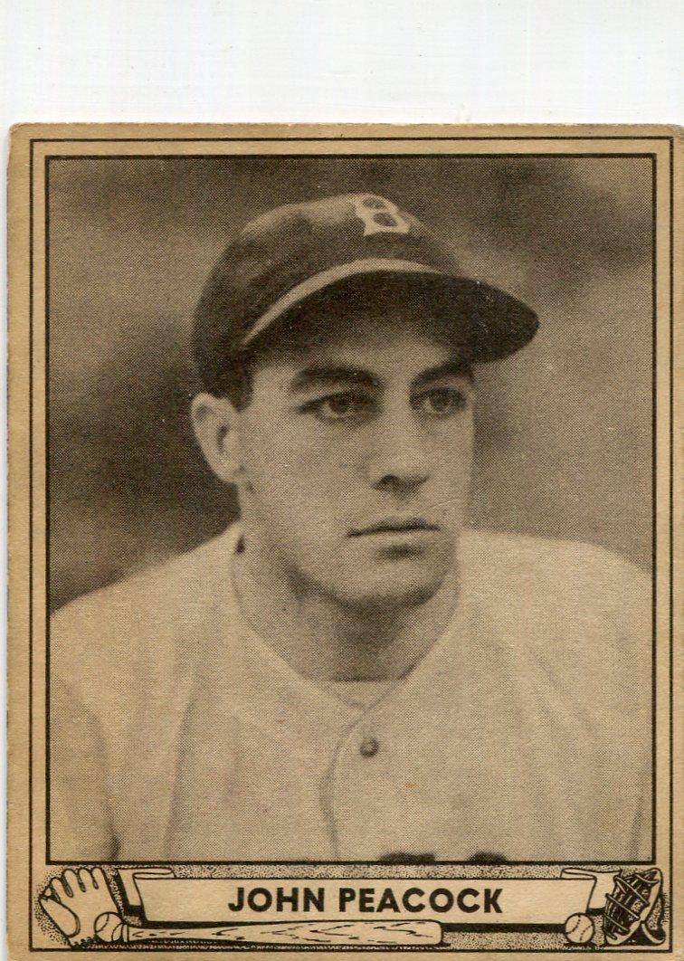1940 Play Ball #34 John Peacock