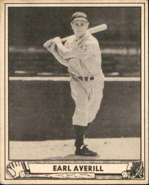1940 Play Ball #46 Earl Averill