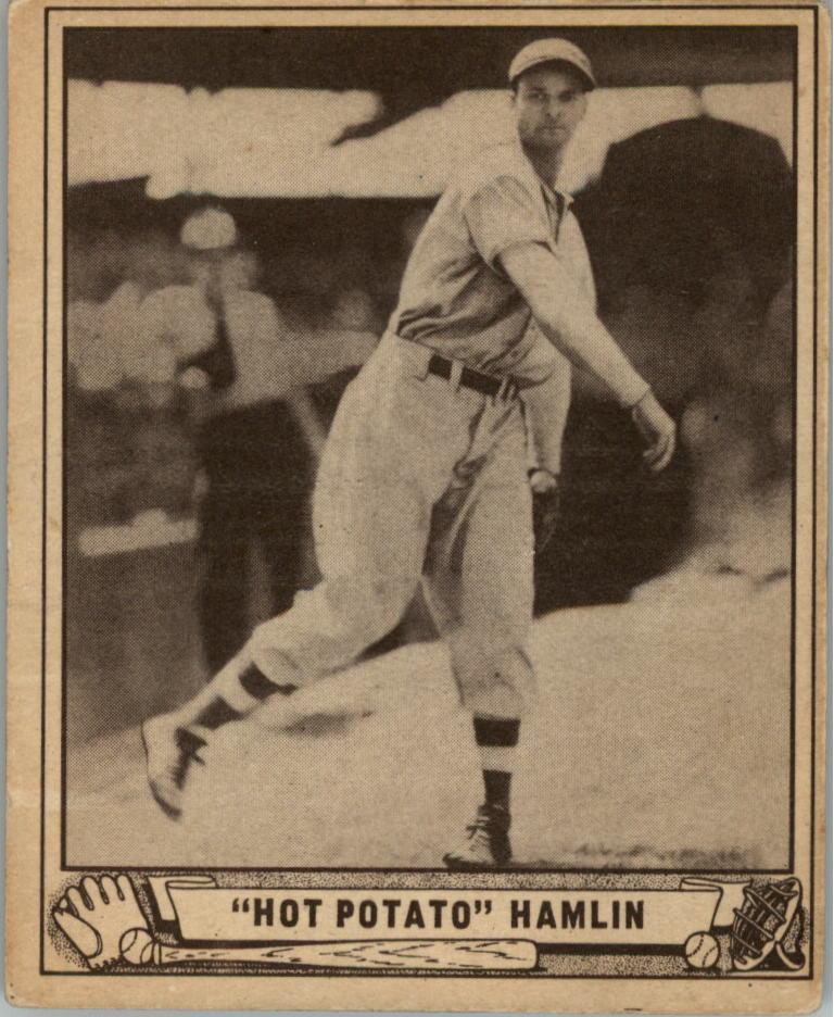 1940 Play Ball #70 Luke Hamlin/(Hot Potato)