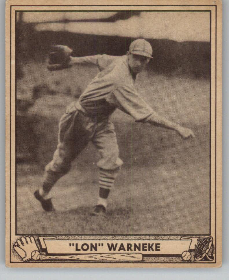 1940 Play Ball #114 Lon Warneke