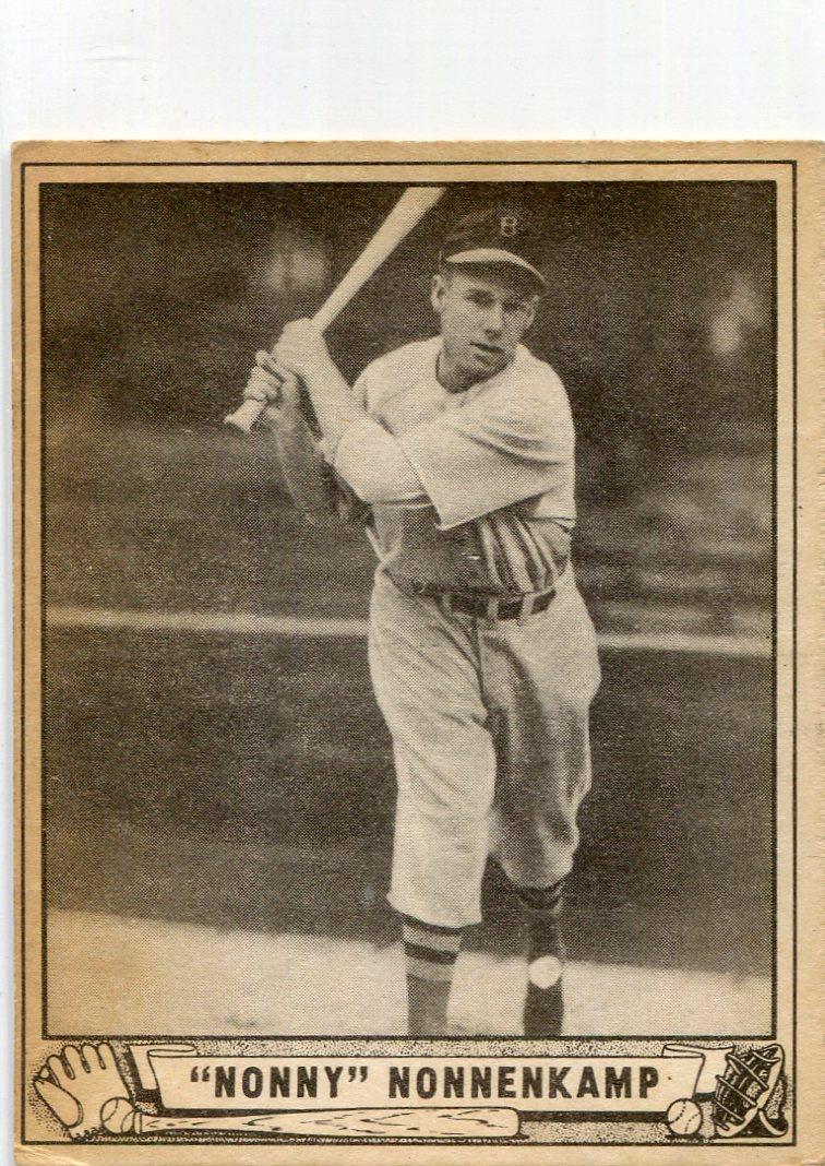 1940 Play Ball #196 Red (Nonny) Nonnenkamp RC