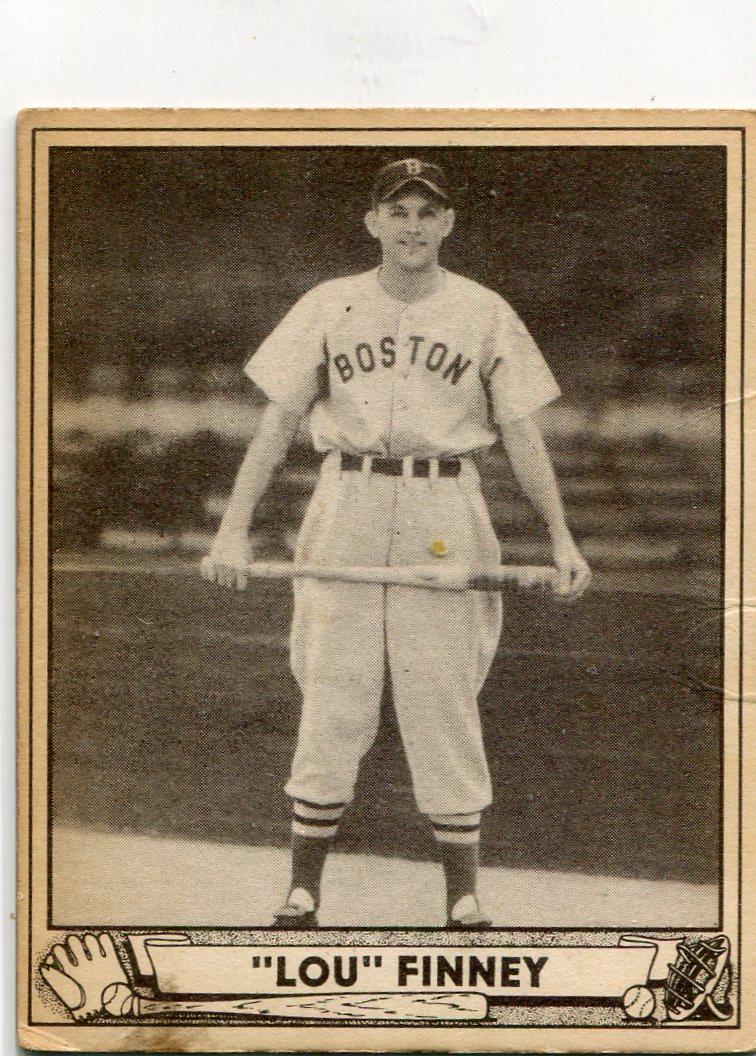 1940 Play Ball #197 Lou Finney RC