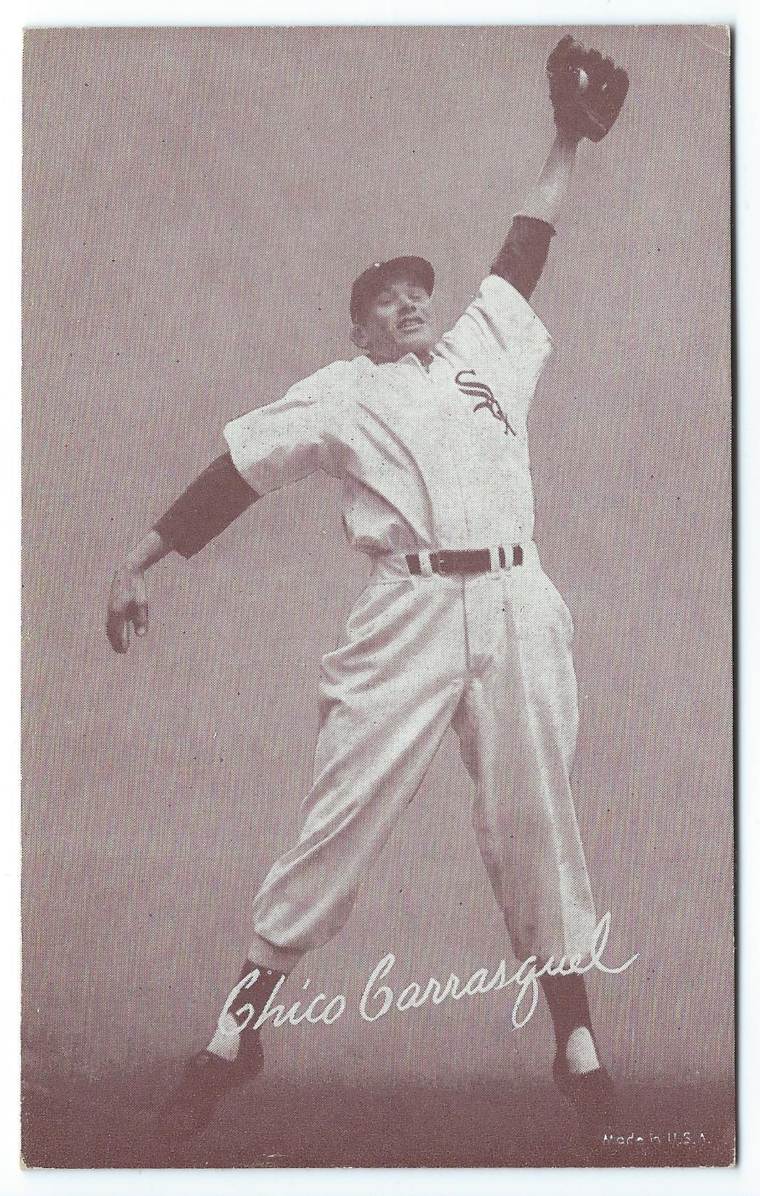 1947-66 Exhibits #34A Chico Carrasquel/White Sox