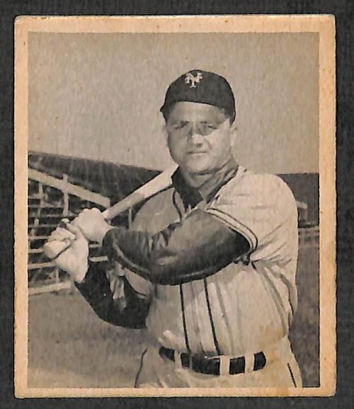 1948 Bowman #13 Willard Marshall SP RC
