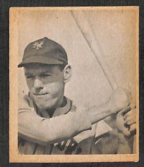1948 Bowman #20 Buddy Kerr SP RC