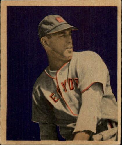 1949 Bowman #35 Vic Raschi RC